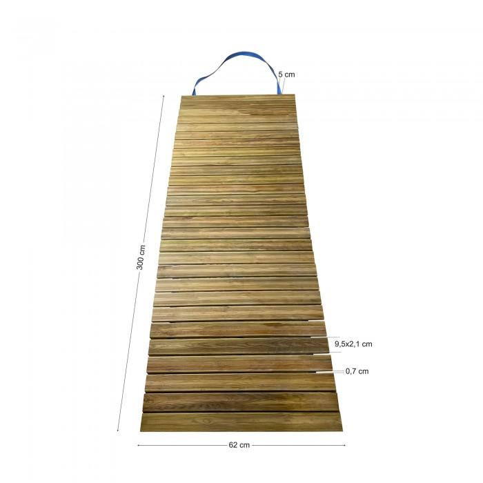 Διάδρομος παραλίας - κήπου 300x62cm