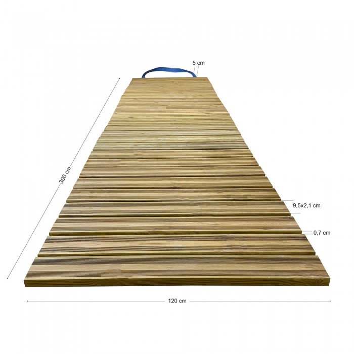 Διάδρομος παραλίας - κήπου 300x120cm