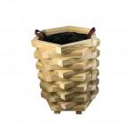 Γλάστρα εισόδου δωδεκάγωνη -ανοιχτές γωνίες - 52x45x60