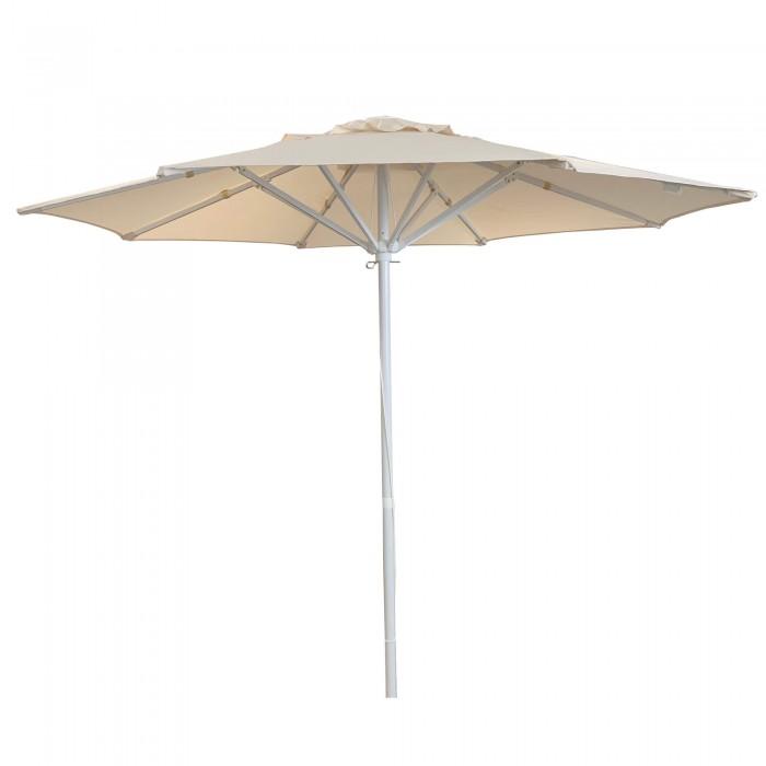Ομπρέλα κήπου - παραλίας μεταλλική επαγγελματική - Διαμ. 2,2m