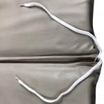 Στρώμα ξαπλώστρας 6cm δερματίνη - γκρι ελεφαντί
