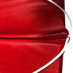 Στρώμα ξαπλώστρας 8cm δερματίνη - κόκκινο της ferrari