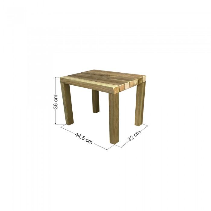 Τραπέζι παραλίας / κήπου φαγητού 44.5x32x36cm
