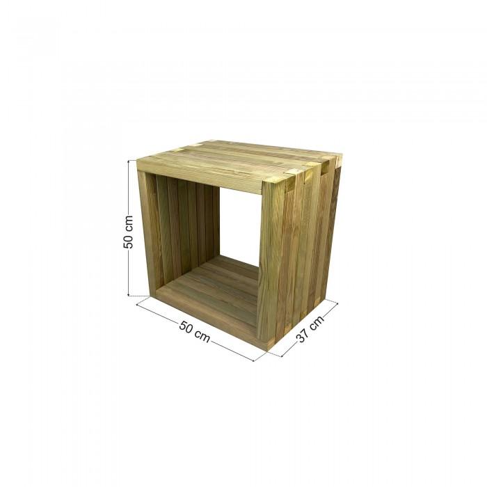 Τραπέζι παραλίας / κήπου φαγητού 50x37x50cm