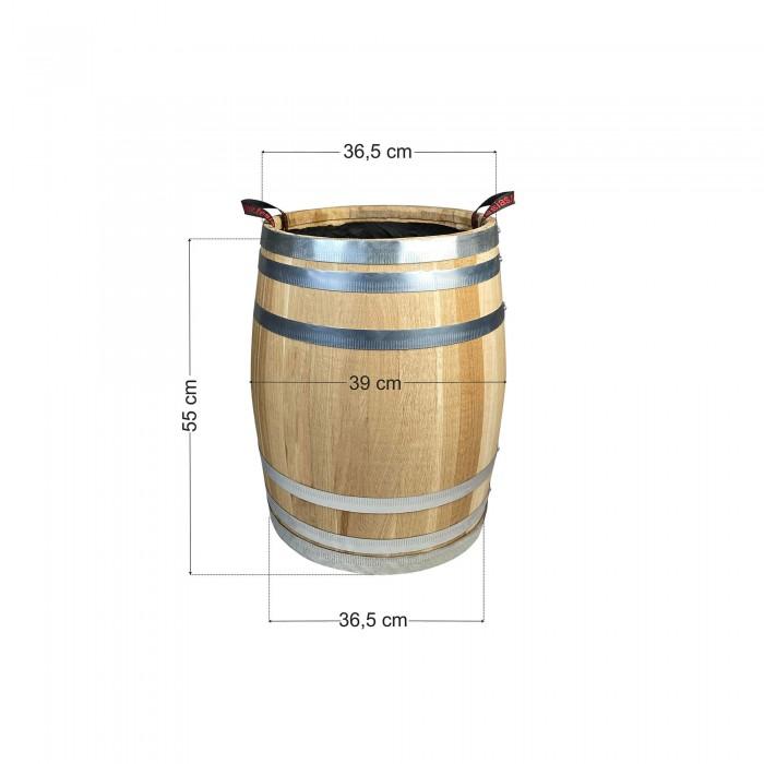 Γλάστρα - Βαρέλι 36.5x55cm