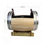 Ζαρντινιέρα - Βαρέλι 57x84,5cm