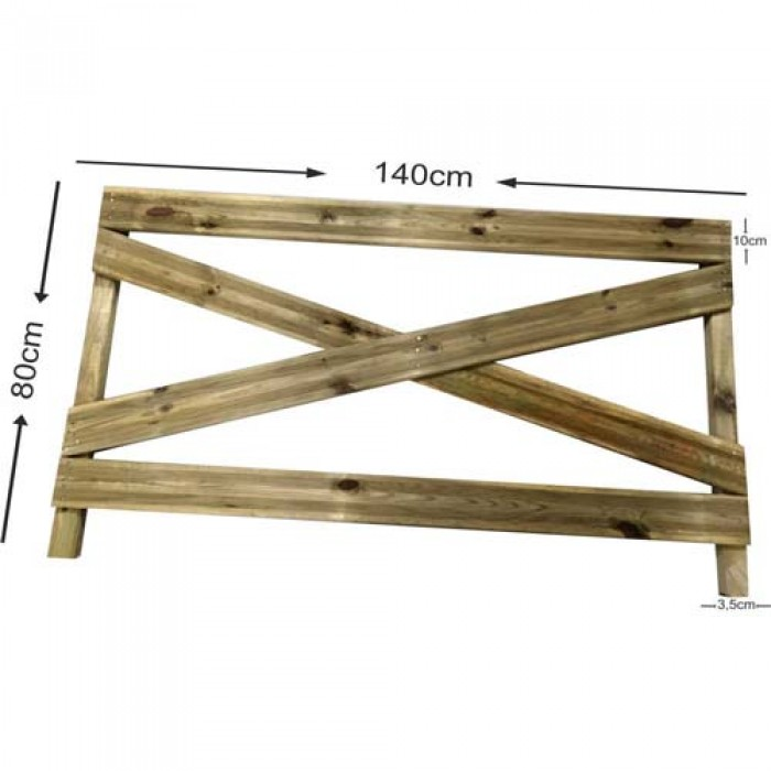 Φράχτης κήπου ΚΩΔ. 510 - 140x80cm