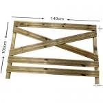Φράχτης κήπου ΚΩΔ. 511 - 140x100cm