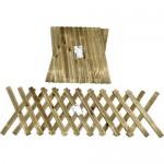 Φράχτης κήπου πτυσσόμενος - 260x60cm