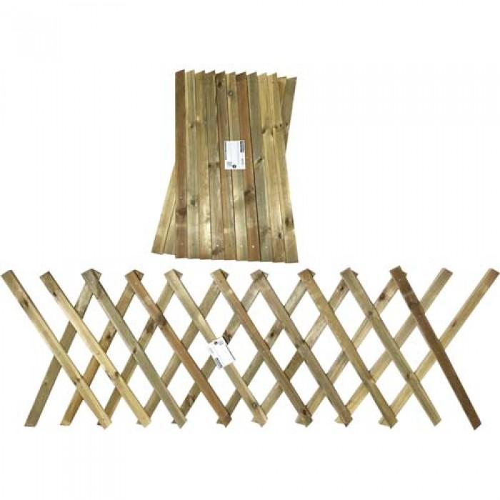 Φράχτης κήπου πτυσσόμενος - 260x80cm