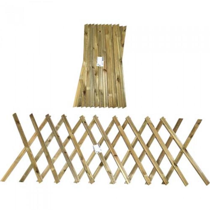 Φράχτης κήπου πτυσσόμενος - 260x120cm