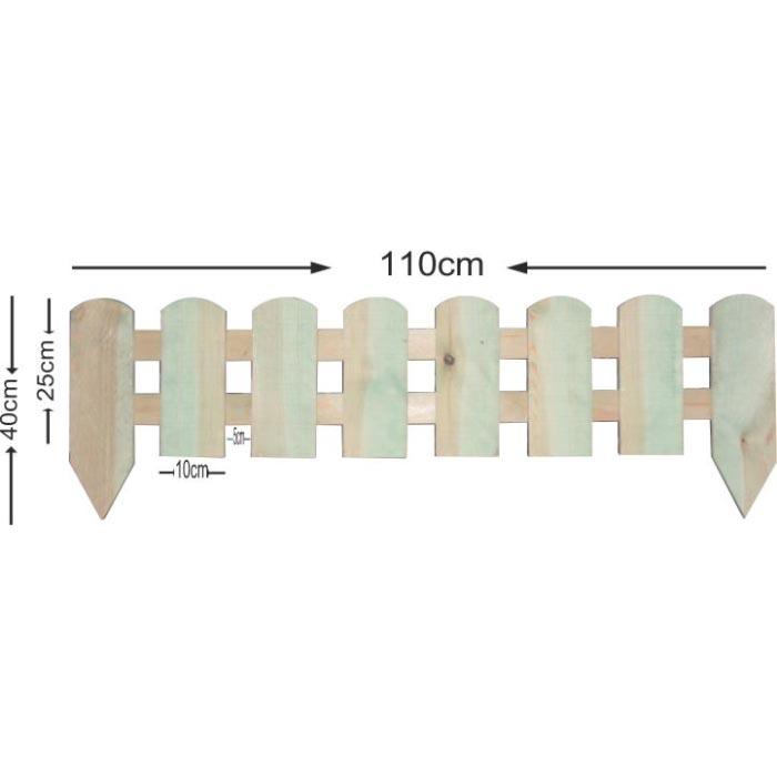Διαχωριστικό παρτέρι - 110x40cm