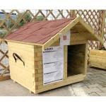Ξύλινο σπιτάκι σκύλου - 80x70xY85cm - Royal