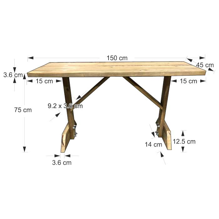 Τραπέζι κήπου - εξοχής
