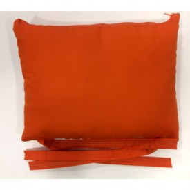 Μαξιλαράκι για στρώμα ξαπλώστρας κόκκινο