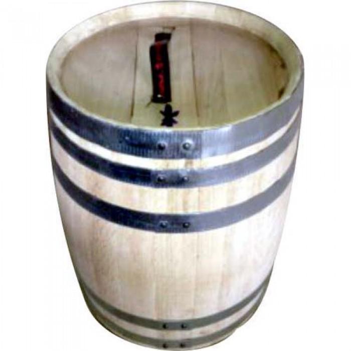 Βαρέλι Ξύλινο 100lt για λάδι ελιές τουρσί