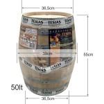 Βαρέλι κρασιού - τσίπουρου ξύλινο  -  δρύινο - 50lt