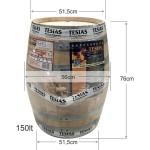 Βαρέλι κρασιού τσίπουρου ξύλινο - δρυς- 150lt