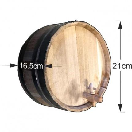 Διακοσμητικό βαρέλι τοίχου 21x16,5cm