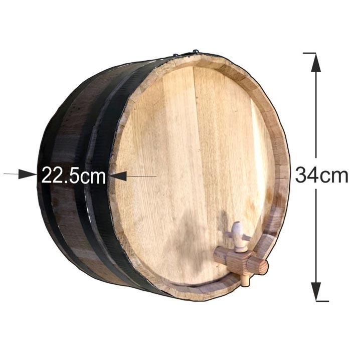 Διακοσμητικό βαρέλι τοίχου 34x22,5cm