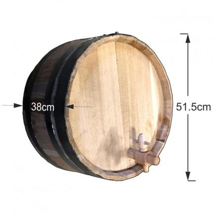 Διακοσμητικό βαρέλι τοίχου 51,5x38cm