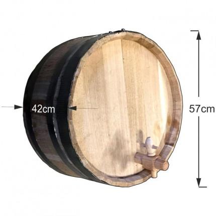 Διακοσμητικό βαρέλι τοίχου 57x42cm