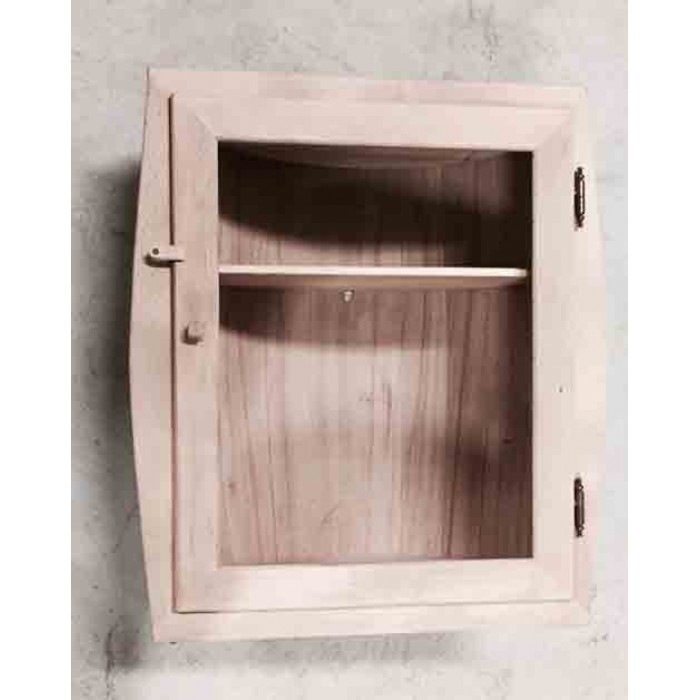 Βαρέλι ράφι με πόρτα 56x24cm